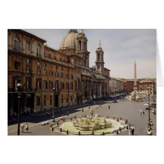 View of the piazza card