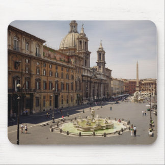 View of the piazza mouse mat
