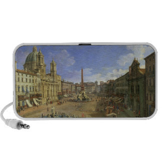 View of the Piazza Navona, Rome Mini Speakers