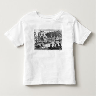 View of the pond of the Court at Fontainebleau Toddler T-Shirt