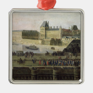 View of the Pont-Neuf and the River Seine Christmas Ornament