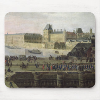 View of the Pont-Neuf and the River Seine Mouse Mat