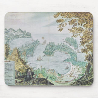 View of the Port of Acapulco Mouse Mat