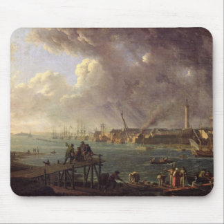 View of the Port of Lorient Mouse Mat