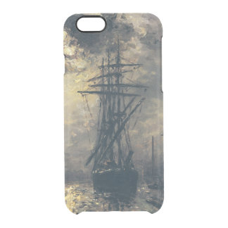 View of the Port, or The Windmills in Clear iPhone 6/6S Case