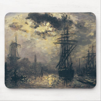 View of the Port, or The Windmills in Mouse Mat