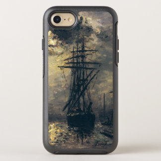 View of the Port, or The Windmills in OtterBox Symmetry iPhone 8/7 Case