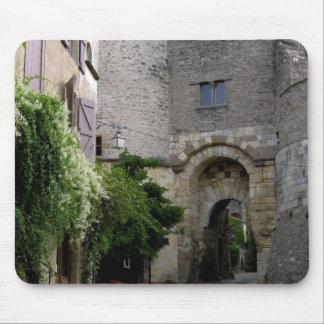 View of the Porte des Ormeaux (photo) Mouse Mat