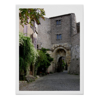 View of the Porte des Ormeaux (photo) Poster