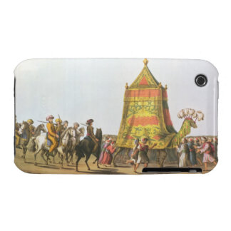 View of the Procession of the Sacred Camel prepara Case-Mate iPhone 3 Case