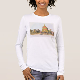View of the Procession of the Sacred Camel prepara Long Sleeve T-Shirt