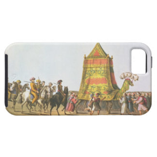 View of the Procession of the Sacred Camel prepara Tough iPhone 5 Case