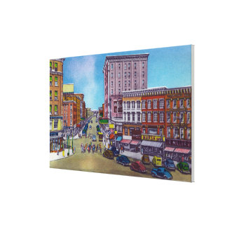 View of the Public Square Canvas Print