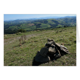 View of the Pyrenees Card