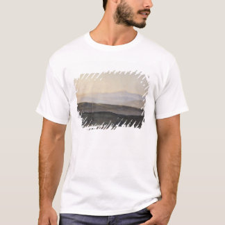 View of the Pyrenees from Plague T-Shirt