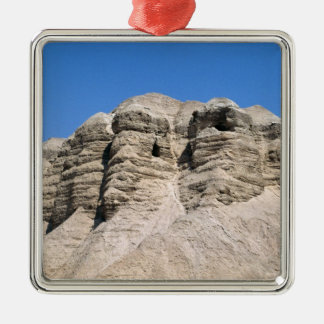 View of the Qumran Caves Christmas Ornament