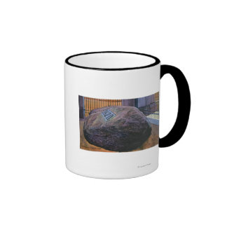 View of the Real Plymouth Rock Mug