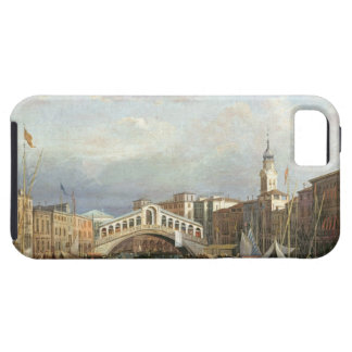 View of the Rialto Bridge in Venice Tough iPhone 5 Case