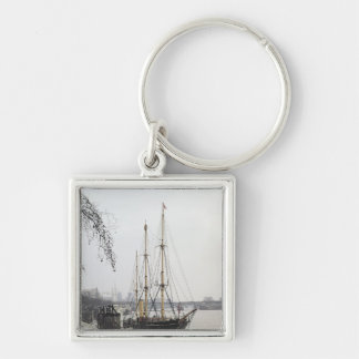 View of the River Thames with RRS Discovery Key Ring