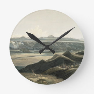 View of the Rocky Mountains, plate 44 from Volume Wallclock