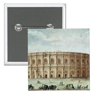 View of the Roman Amphitheatre Pinback Button