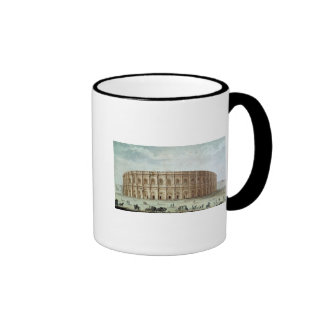 View of the Roman Amphitheatre Ringer Coffee Mug