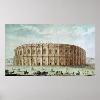 View of the Roman Amphitheatre Poster