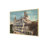View of the Rotunda Wing at the Mission Inn Gallery Wrap Canvas