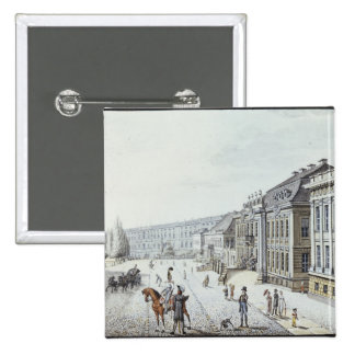 View of the Royal Palace, Berlin 15 Cm Square Badge