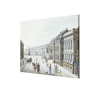 View of the Royal Palace, Berlin Canvas Print
