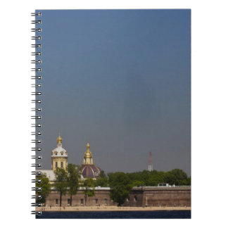 View of the Saints Peter and Paul Cathedral 2 Spiral Notebook
