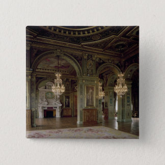 View of the Salle des Arts, after 1871 15 Cm Square Badge
