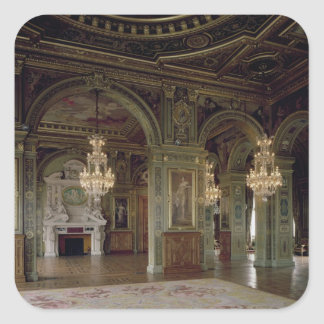View of the Salle des Arts, after 1871 Square Sticker