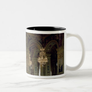 View of the Salle des Arts, after 1871 Two-Tone Coffee Mug