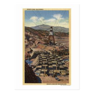 View of the Shasta Dam Postcard