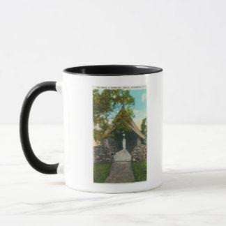 View of the Shrine at Sanitarium in Gabriels Mug