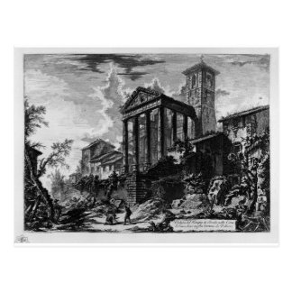 View of the source and the caverns of Egeria by Gi Postcard