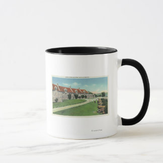View of the South Barracks from the Flag Mug