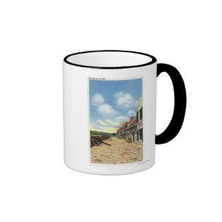 View of the South Platform Ringer Coffee Mug