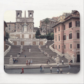 View of the Spanish Steps or Scalinata Mouse Mat