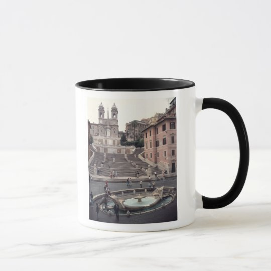 View of the Spanish Steps or Scalinata Mug