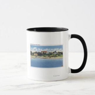 View of the Squirrel Inn on Squirrel Island Mug