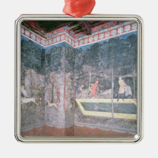 View of the Stag Room, 1343 Christmas Ornament