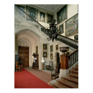 View of the Staircase Hall, 1812-15 Postcard