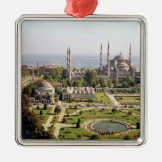 View of the Sultan Ahmet Camii  built 1609-16 Christmas Ornament