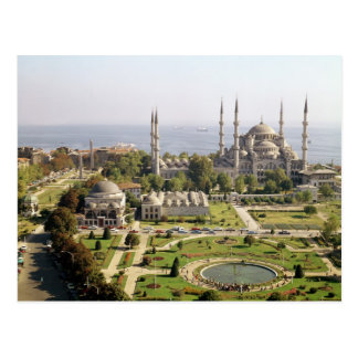 View of the Sultan Ahmet Camii  built 1609-16 Postcard