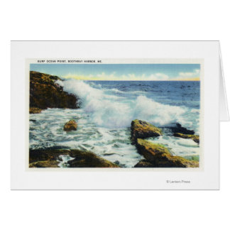 View of the Surf at Ocean Point Card