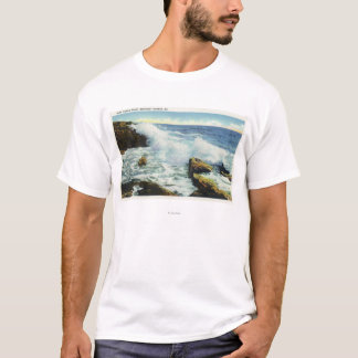 View of the Surf at Ocean Point T-Shirt