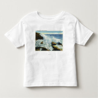 View of the Surf at Ocean Point Toddler T-Shirt