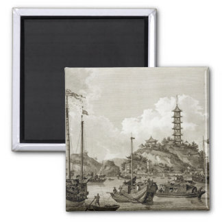 View of the Tchin Shan, or Golden Island, in the Y Square Magnet